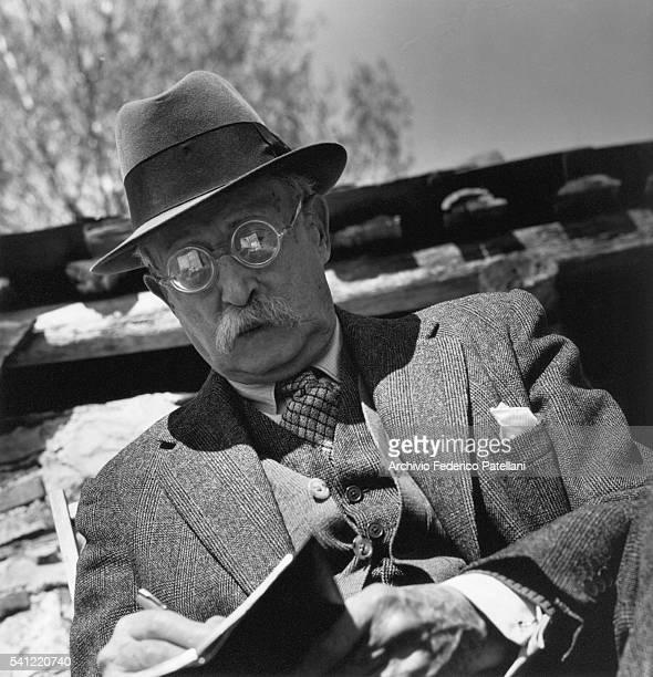 Portrait of the French socialist statesman Leon Blum