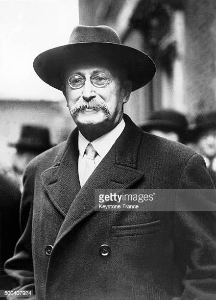 Portrait of the Front Populaire government's leader Leon Blum during a stay in London 1936 in London United Kingdom