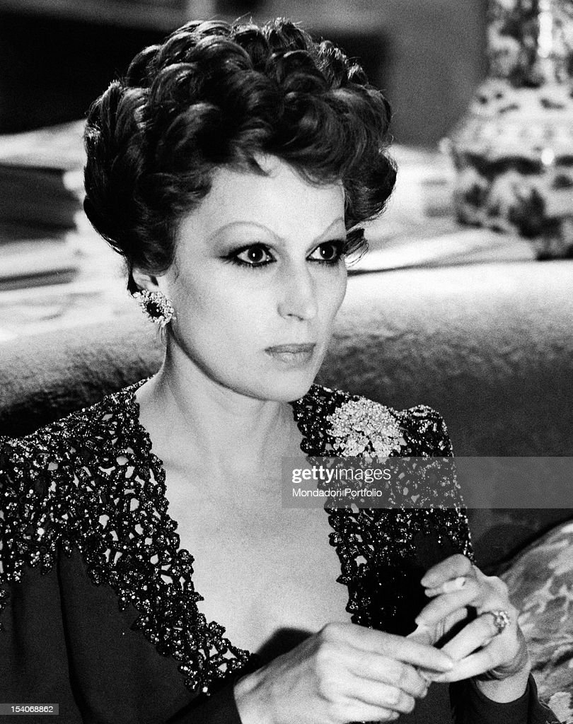 Portrait of the italian actress silvana mangano in the film