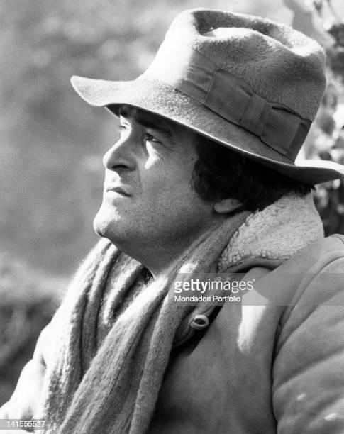 Portrait of the Italian director Bernardo Bertolucci Parma 1970