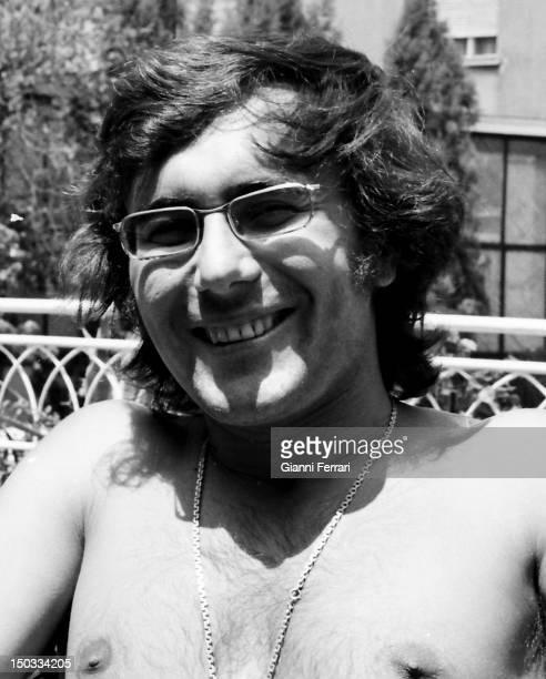 A portrait of the Italian singer Al Bano 20th June 1972 Barcelona Spain