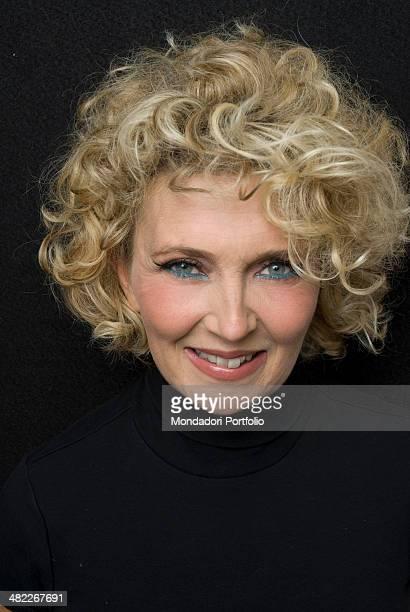 Portrait of the Italian singer Rossana Casale smiling Italy 2010XXX attenzione anna dice di lasciare in sospeso tra l'altro non c'è fotografoXXXX