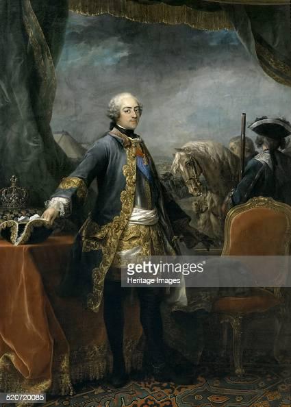 Portrait of the King Louis XV Found in the collection of Musée de l'Histoire de France Château de Versailles