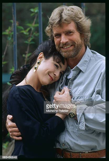 Portrait of the lead actors Agnes Seelinger and Peter Semler | Location BrieSurMarne France