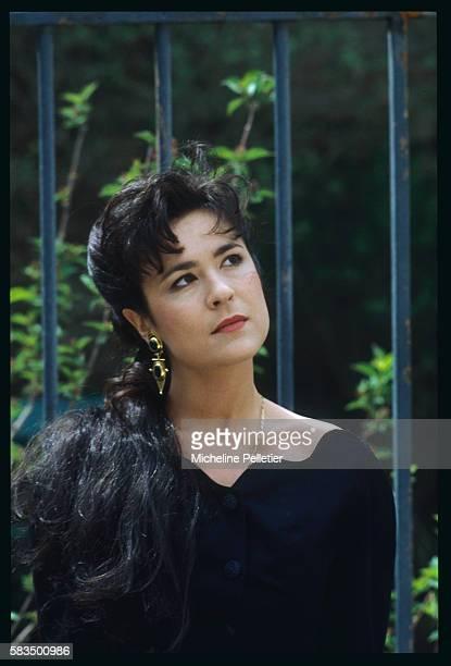 Portrait of the lead actress Agnes Seelinger | Location BrieSurMarne France
