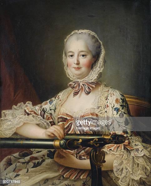 Portrait of the Marquise de Pompadour Private Collection