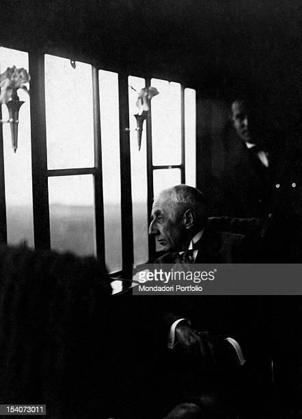 Portrait of the Norwegian explorer Roald Amundsen 1920s