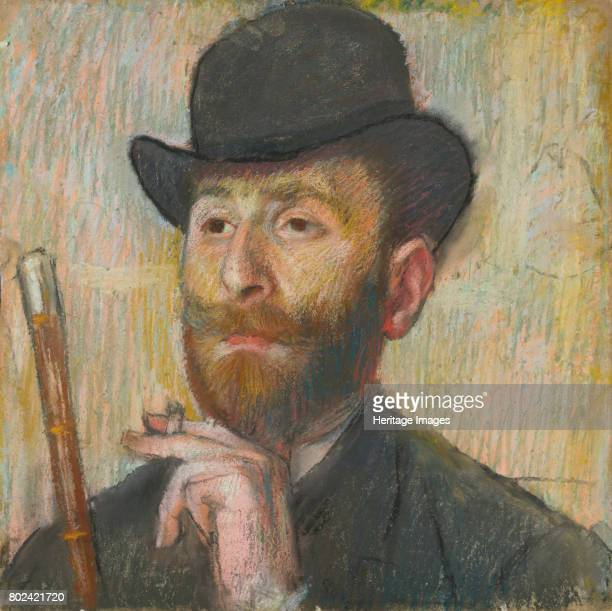 Portrait of the Painter Zakar Zakarian ca 1885 Private Collection