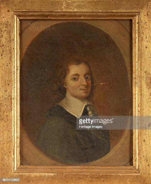 Portrait of the philosopher Blaise Pascal 18th century Private Collection