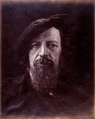 Portrait of the poet Alfred Lord Tennyson by Julia Margaret Cameron Cameron's photographic portraits are considered among the finest in the early...