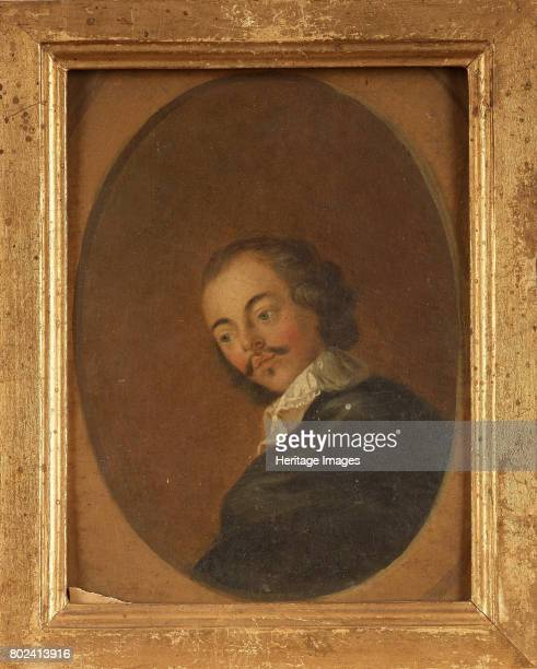 Portrait of the poet dramatist and novelist Paul Scarron 18th century Private Collection