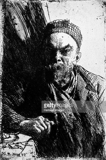 Portrait of the Poet Paul Verlaine 1895 Private Collection Artist Zorn Anders Leonard