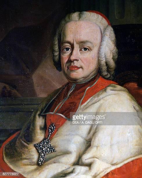 Portrait of the Prince Bishop Sigismund Graf von Schrattenbach bishop of Salzburg from 1753 to 1771 took Franz Joseph Haydn as Kapellmeister painting...