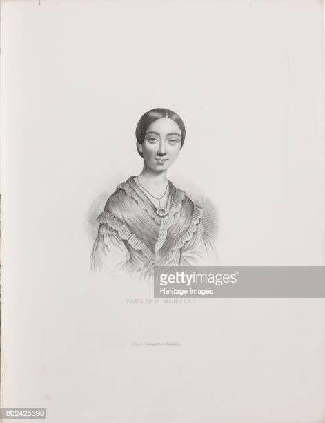 Portrait of the singer and composer Pauline Viardot 18391840 Found in the collection of I Turgenev Memorial Museum Moscow