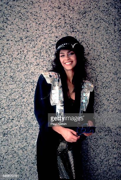 Portrait of the singer Vanity Chicago Illinois April 3 1986