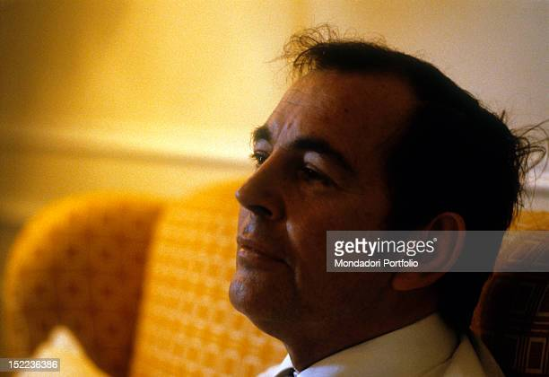 Portrait of the South African surgeon Christiaan Neethling Barnard Monte Carlo October 1981