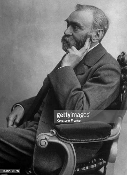 Portrait Of The Swedish Chemist Alfred Nobel The Inventor Of Dynalite Between 1850 And 1896 He Donated His Fortune For The Creation Of The Nobel...