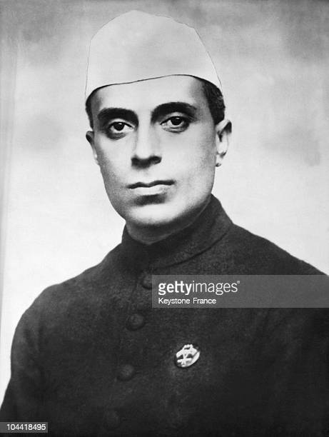 Portrait Of The Young Nationalist Militant Jawaharlal Nehru In The 1930'S At The Time When He Was Arrested By The British For Having Participated In...