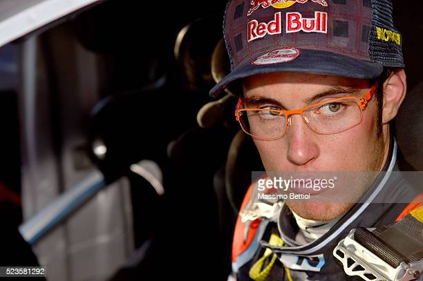PAZ ARGENTINA APRIL Portrait of Thierry Neuville of Belgium during Day Two of the WRC Argentina on April 23 2016 in Villa Carlos Paz Argentina