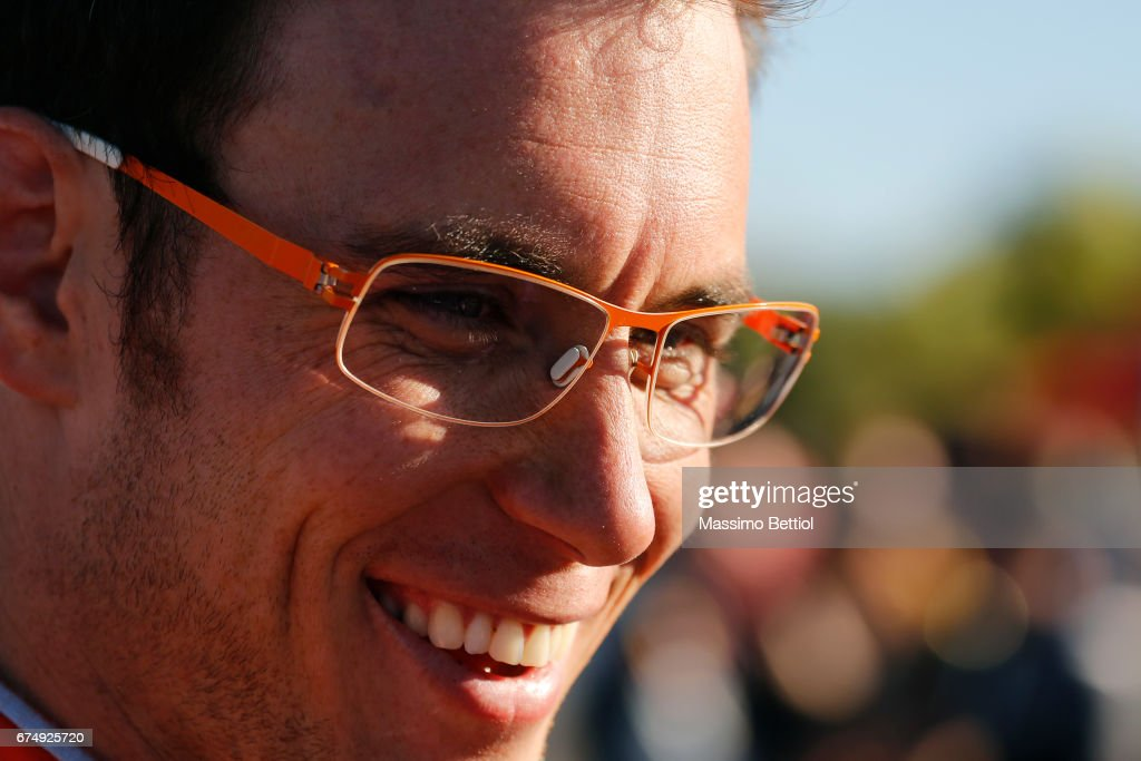 Portrait of Thierry Neuville of Belgium taken during Day Two of the WRC Argentina on April 29, 2017 in Villa Carlos Paz, Argentina.