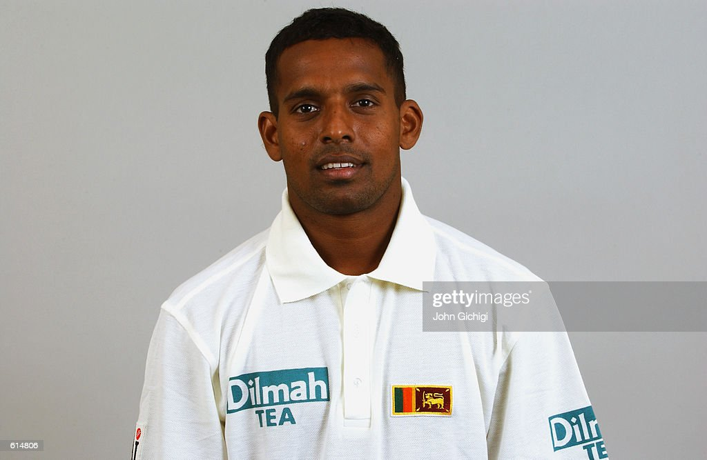 Portrait of Thilan Samaraweera of Sri Lanka during the Sri Lankan Cricket Team photoshoot held in Shenley England on April 23 2002 DIGITAL IMAGE