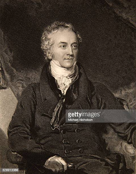 Portrait of Thomas Young an English physicist physician and Egyptologist