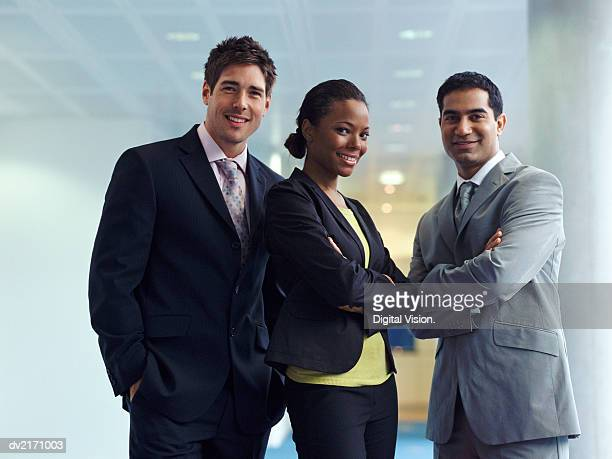 Portrait of Three Business Executives