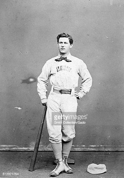 Portrait of Tim Murnane extra first baseman for the Philadelphia Athletics and sportswriter specializing in baseball regarded as the leading baseball...