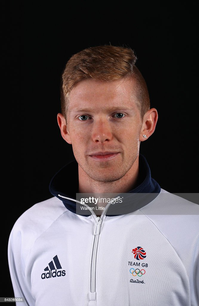 A portrait of <a gi-track='captionPersonalityLinkClicked' href=/galleries/search?phrase=Tom+Bosworth&family=editorial&specificpeople=8008329 ng-click='$event.stopPropagation()'>Tom Bosworth</a> a member of the Great Britain Olympic team during the Team GB Kitting Out ahead of Rio 2016 Olympic Games on June 27, 2016 in Birmingham, England.