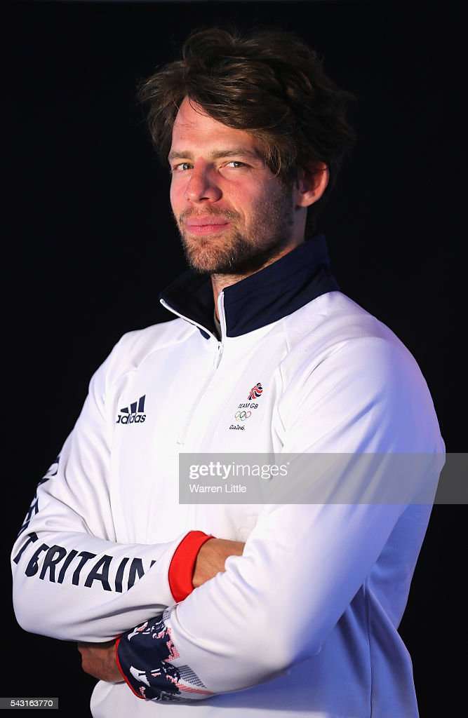 A portrait of <a gi-track='captionPersonalityLinkClicked' href=/galleries/search?phrase=Tom+Ransley&family=editorial&specificpeople=4951209 ng-click='$event.stopPropagation()'>Tom Ransley</a> a member of the Great Britain Olympic team during the Team GB Kitting Out ahead of Rio 2016 Olympic Games on June 26, 2016 in Birmingham, England.