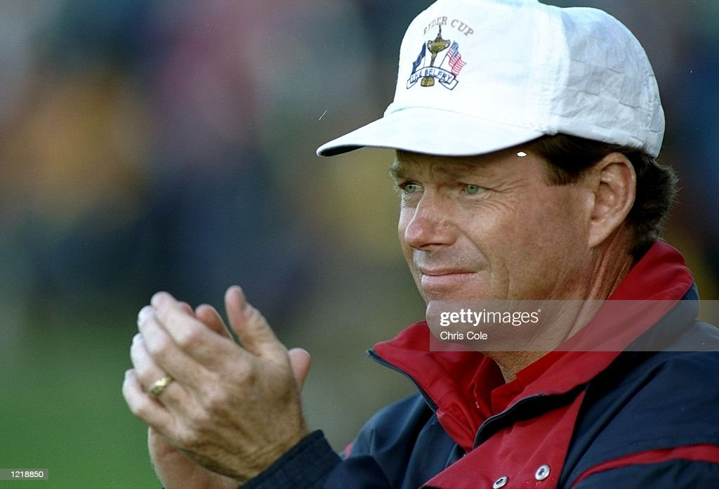 Portrait of Tom Watson of the USA during the Ryder Cup at The Belfry Golf Club in Sutton Coldfield England USA won the event 1513 Mandatory Credit...
