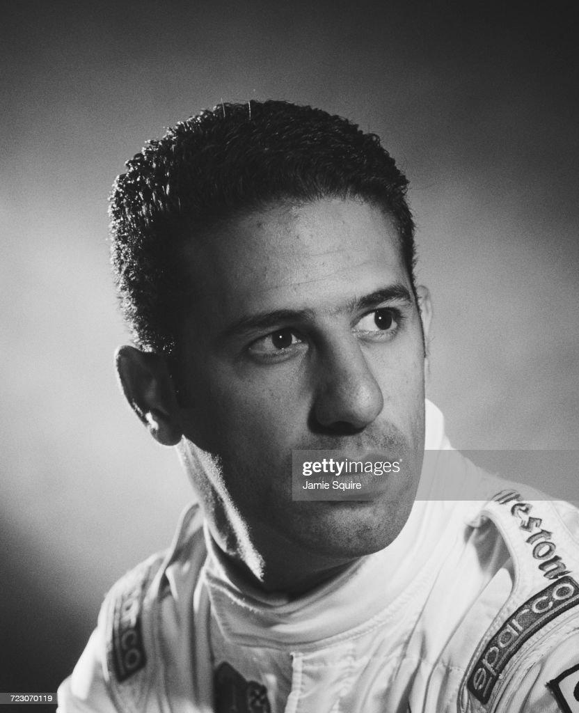 A portrait of Tony Kanaan of Brazil, driver of the #55 Mo Nunn Racing Racing Reynard 2KI Mercedes IC 108E during testing for the Championship Auto Racing Teams (CART) 2000 FedEx Championship Series season on 8 February 2000 at the Homestead-Miami Speedway, Homestead, Florida, United States.