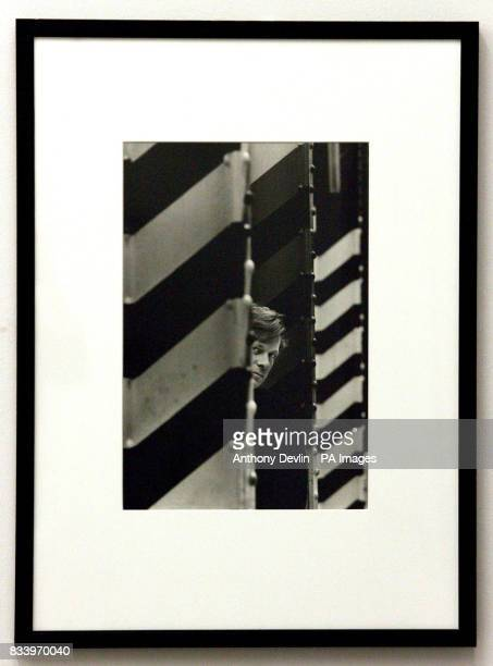 A portrait of Tony Wilson taken by Kevin Cummins at Manchester's Hacienda nightclub in 1985 goes on display in the National Portrait Gallery in...