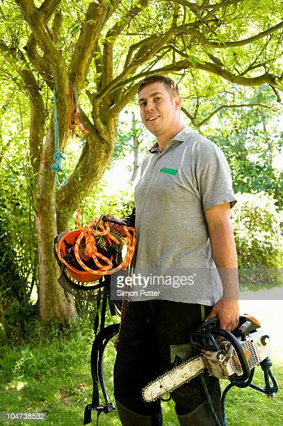 Portrait of tree surgeon
