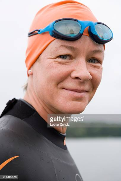 Portrait of triathlete