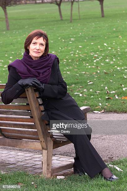 Portrait of TV presenter and journalist Joan Bakewell London 2nd December 1999