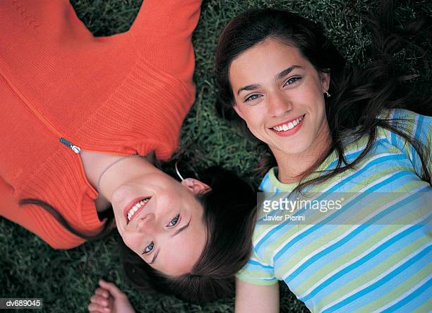 Portrait of Two Female Teenagers
