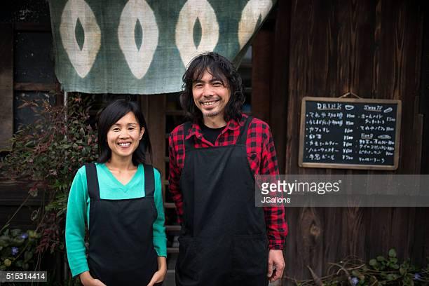 Portrait de deux inscription pour les dirigeants de petites entreprises