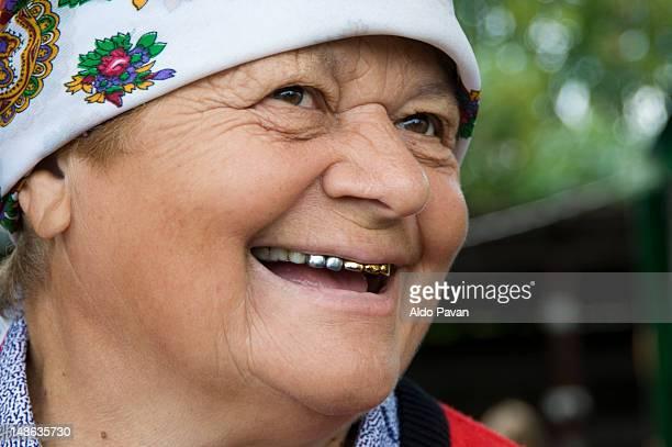 Portrait of Ukrainian woman.