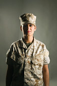 Portrait of United States Marine