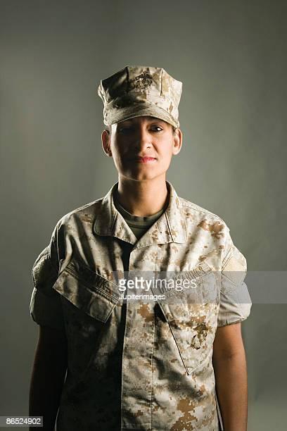 Portrait of United States Marine