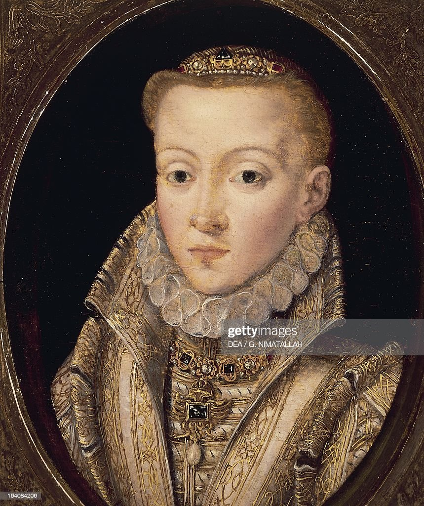 Portrait of unknown woman ca 1560 oil on panel London Victoria And Albert Museum
