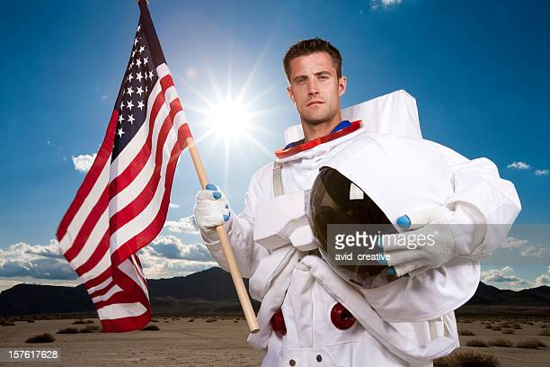 Portrait of US Astronaut