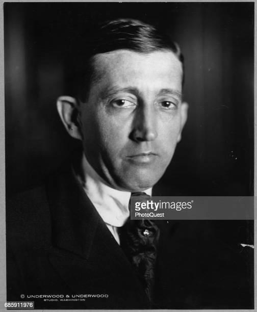Portrait of US Postmaster General Will H Hays Washington DC 1922
