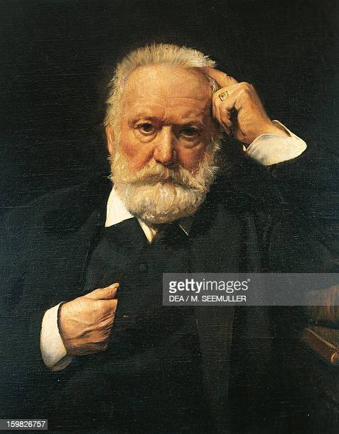Portrait of Victor Hugo French poet and writer Painting by Leon Bonnat Paris Maison De Victor Hugo