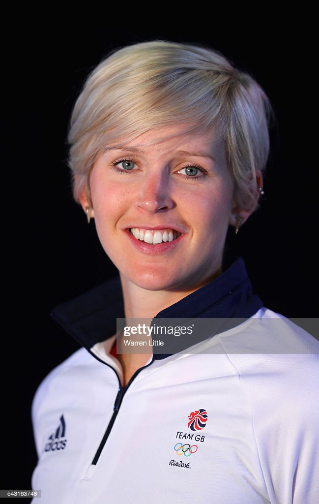 A portrait of <a gi-track='captionPersonalityLinkClicked' href=/galleries/search?phrase=Victoria+Thornley&family=editorial&specificpeople=6000839 ng-click='$event.stopPropagation()'>Victoria Thornley</a> a member of the Great Britain Olympic team during the Team GB Kitting Out ahead of Rio 2016 Olympic Games on June 26, 2016 in Birmingham, England.