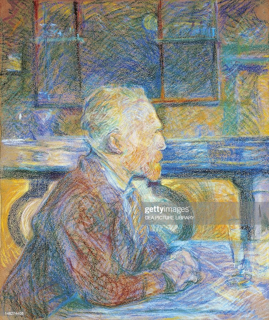 Portrait of <a gi-track='captionPersonalityLinkClicked' href=/galleries/search?phrase=Vincent+van+Gogh+-+Pintor&family=editorial&specificpeople=79195 ng-click='$event.stopPropagation()'>Vincent van Gogh</a>, by Henri de Toulouse Lautrec (1864-1901). (Photo by DeAgostini/Getty Images); Amsterdam, Van Gogh Museum.