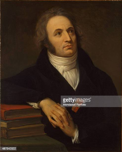 Portrait of Vincenzo Monti by Andrea Appiani c 1808 19th Century oil on canvas 74 x 53 cm Italy Lazio Rome National Gallery of Modern and...