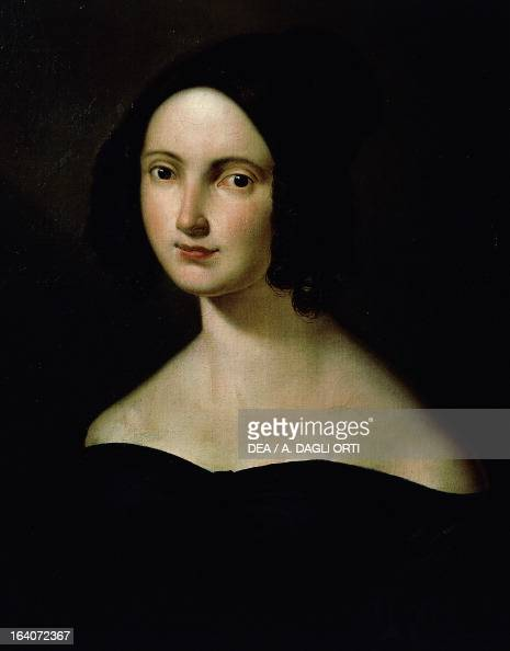 A portrait of Donizetti's wife, Virginia Vasselli