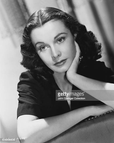 Portrait of Vivien Leigh Distinguished British leading lady whose stage screen career was limited by delicate healt for many years the wife of...